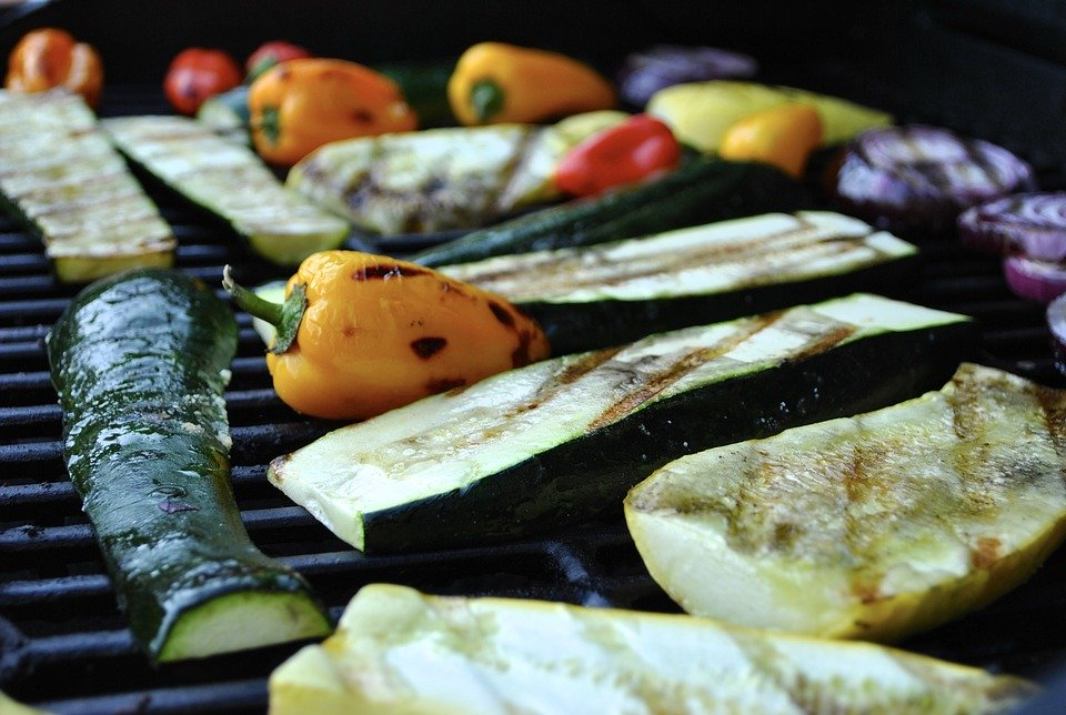 BBQ groenten catering